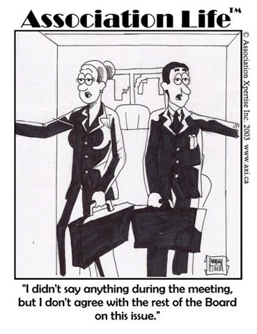 Does Your Board Have Parking Lot Conversations?
